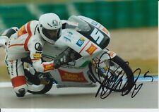 ROMANO Endurance Firmato a Mano 7x5 Foto San Carlo team Italia moto 3 MOTOGP 5.