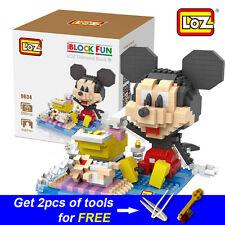 Disney Mickey Mouse Nanoblock LOZ Diamond Building Blocks toys DIY model gift