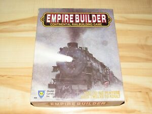Empire Builder Continental Railbuilding Board Game Complete Mayfair 1988
