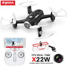 Syma X22W Mini Drone 2.4ghz FPV Active Track WiFi Camera Hover RC Quadcopter UAV