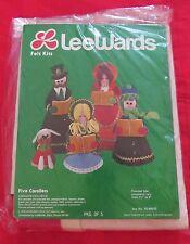 Vintage Lee Wards Felt Christmas Carolers Craft Sewing Kit EIP