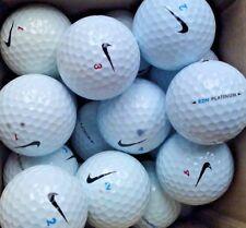 20 Nike RZN Platinum Golf Balls Pearl/A Grade