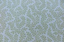 """COLEFAX AND FOWLER CURTAIN FABRIC DESIGN """"Blythe"""" 1.2 METRES LEAF LINEN BLEND"""