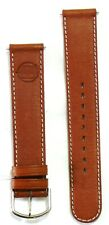 Alain Silberstein Brown Leather Watch Strap with Buckle NEW #36203