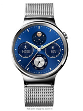 Huawei Watch Stainless Steel - w/ Stainless Steel Mesh Band
