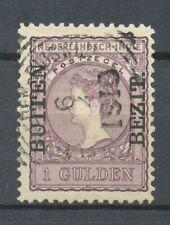 Nederlands Indië  97 B gebruikt met vierkantstempel WELTEVREDEN-RIJSWIJK