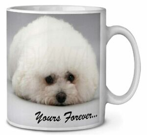 Bichon Frise Dog 'Yours Forever' Coffee/Tea Mug Gift Idea, AD-BF3MG