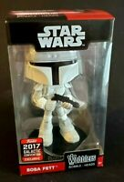 Funko Star Wars Wobblers Boba Fett 2017 Galactic Convention Exclusive GalCon