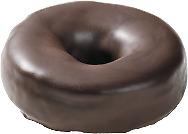 Entenmann's Chocolate Covered Doughnut Fake Food Prop L@k.