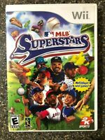 MLB Superstars (Nintendo Wii Children's Game) Clean & Tested Working Free Ship