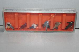 Preiser 75012 Figurines Continuous Travelers Tt Gauge Boxed