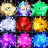 100-600 LED Fairy Lights 10M-100M String Lamp Wedding New Year Tree Party Decor