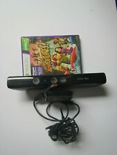 Tested Microsoft 1414 Xbox 360 Kinect Sensor Bar with CIB Kinect Adventures!