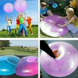 Große Wubble Bubble 120 cm Wasserballons Wasserspielzeug Aufblasbarer Riesenball