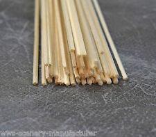 """A6 BALSA legno STRISCIA 1/16 x 1/16 - 1,5 mm x 1,5 mm Lunghezza 12 """"Confezione da 45"""