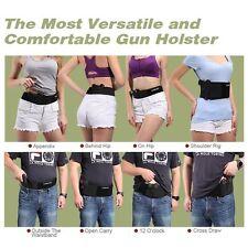 Belly Band Holster for Concealed Carry Elastic Hand Gun Holder For Men & Women
