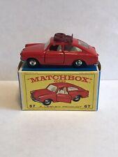 matchbox lesney #67 Volkswagen 1600 W/original box and Rally roof rack
