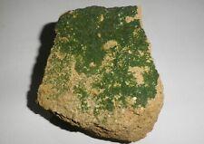 Libethenite on matrix. Hardway mine, Cloncurry,  Queensland.               S461