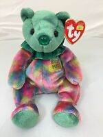 8150c18efed TY Beanie Buddy   Baby ARIEL Glaser Flowers AIDS Large   Small Plush ...