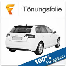 3D Tönungsfolie VORGEWÖLBT Audi A3 8PA 5 Türer Bj 2004-2012