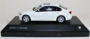 BMW 1:43 F30 3 Series - Alpine White.