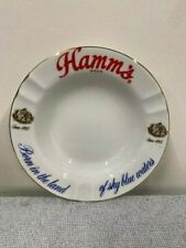 60/70's Classic Hamm's Beer Ashtray Mint Never Used!