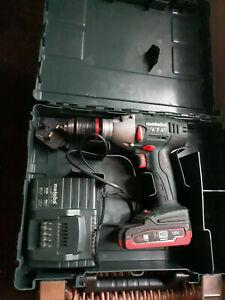 Metabo SB 18 LTX Impuls 18V Combi Drill & Charger & Battery
