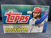 2020 TOPPS UPDATE BASEBALL CARDS FACTORY SEALED 24 PACK RETAIL BOX MLB