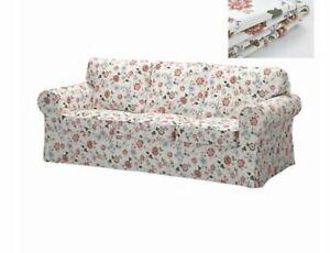 Original Ikea Cover for Ektorp 3 Seat Sofa in Videslund Multicolour Floral vgc