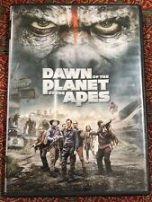 Dawn of the Planet of the Apes (Dvd, 2014) Science Fiction Action Movie