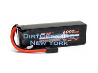 11.1V 6000mAh 90C 3S Hardened LiPo Battery Pack Traxxas Slash 4x4 Ultimate VXL