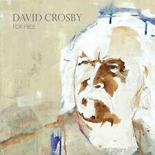 David Crosby - For Free [CD] Sent Sameday*