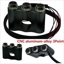 Black CNC 22mm Motorcycle Self/Manual-return Switch Button Fit 7/8'' Handlebar