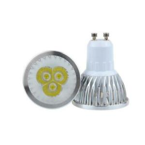 10 PCS GU10 9W Warm White LED Spotlight Light Bulb Downlight Lamp