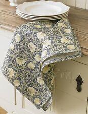 William Morris Pimpernel Cream Cotton Floral Tea Towel