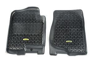 Fits Chevrolet Silverado 99-18 Black  Floor Liners Front  398290101