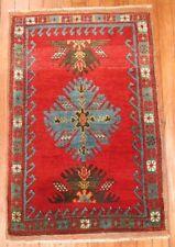 Antique Turkish Yastik Melas Rug Size 2'x3'