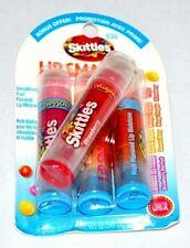4 Pcs Lip Smacker Skittles Collection Lip Gloss Best Flavor Forever #030