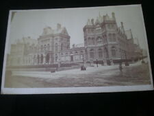 Cdv old photograph New Infirmary hospital by Hanson at Leeds c1860s