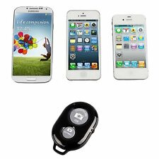 Bluetooth Remote Shutter Button Selfie Stick For Apple iPhone 7 / 7 Plus Black