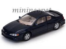 SUN STAR 1986 2000 CHEVROLET MONTE CARLO SS 1/18 DIECAST MODEL CAR NAVY BLUE