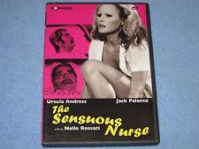 THE SENSUOUS NURSE (DVD, 2005, Uncut) ***Rare, OOP!*** Ursula Andress