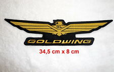 Goldwing,Patch,XL,aufbuegler,GL1800,Badge,Vest,Gold Wing,SEW-ON BACK PATCH