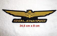 Goldwing,Patch,XL,Aufnäher,Aufbügler,GL1800,Badge,Kutte,Gold Wing,Rückenaufnäher