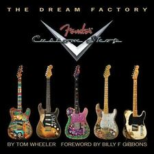"FENDER ""THE DREAM FACTORY"" CUSTOM SHOP HARD COVER LIMITED EDITION BOOK NEW!"