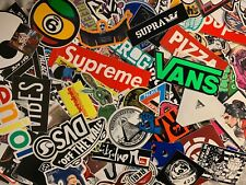 15 Random Sticker Pack Skateboard, Snowboard, Surf, Tattoo, Graffiti  TOP BRANDS