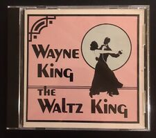 Wayne King The Waltz King OUT OF PRINT NM CD Good Music Orchestra NICE 18 Songs