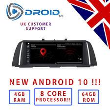 """BMW F10 F11 * Android 10 * 8 CORE - 4GB - 64GB - 10.25 """" 5 SERIES ID6 ID7 GPS"""
