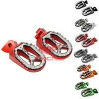 CNC Foot Pegs Footrest For Yamaha YZ85/125/250 1999-2015 YZF250 WR250F 1999-2015