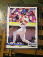 1997 Starting Lineup Cards Classic Doubles Mark McGwire~